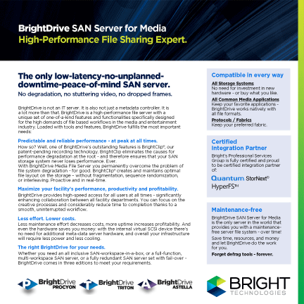 BrightDrive Product Overview